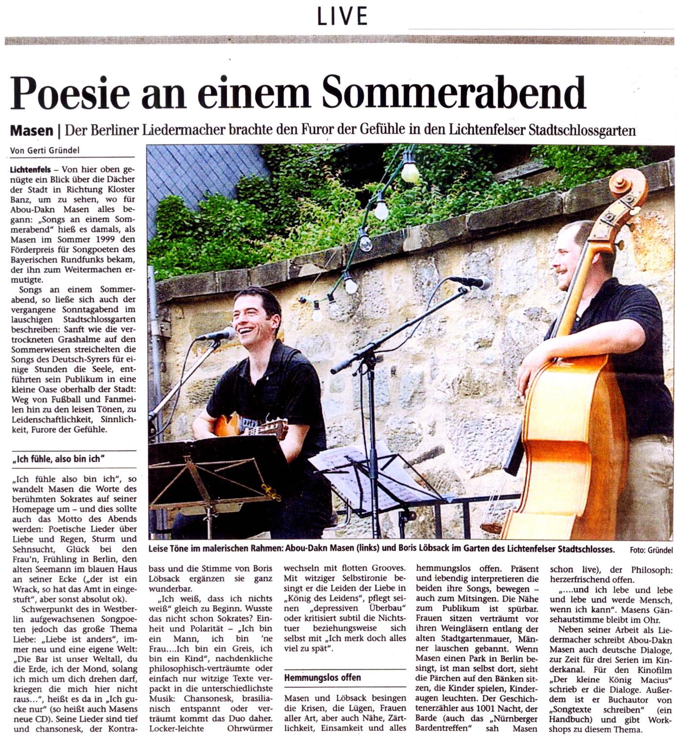 Masen 24.6.2008 in Lichtenfels
