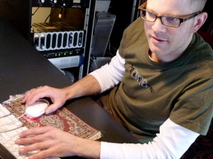 Christoph am Rechner
